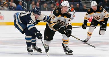 Danton Heinen Boston Bruins