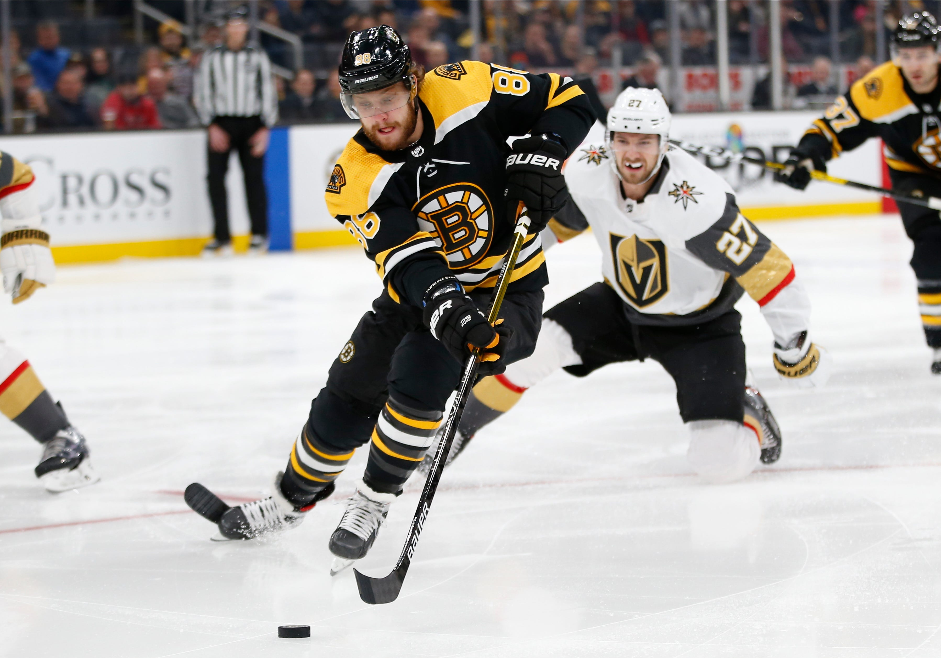 Bruins' Pastrnak will be 'big supporter' of teammates in NHL All-Star