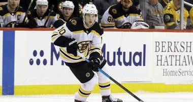 Anders Bjork Boston Bruins
