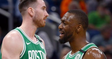 Gordon Hayward and Kemba Walker
