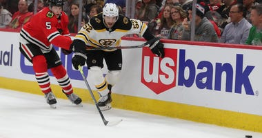 Sean Kuraly Boston Bruins Chicago Blackhawks