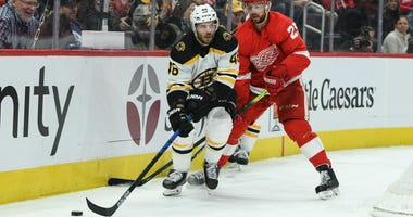 David Krejci Boston Bruins Detroit Red Wings