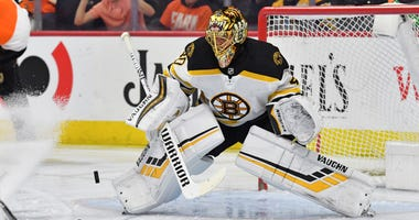 Tuukka Rask Boston Bruins Philadelphia Flyers