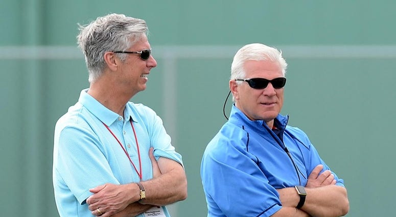 Dave Dombrowski and Frank Wren