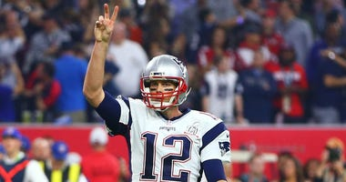 Tom Brady at Super Bowl LI