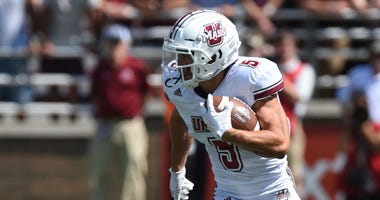 UMass wide receiver Andy Isabella