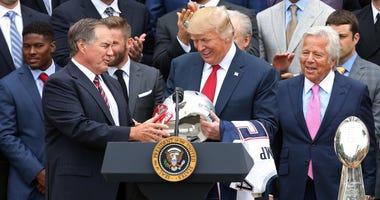 Bill Belichick Donald Trump