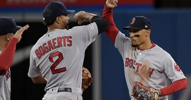 Xander Bogaerts and Mookie Betts