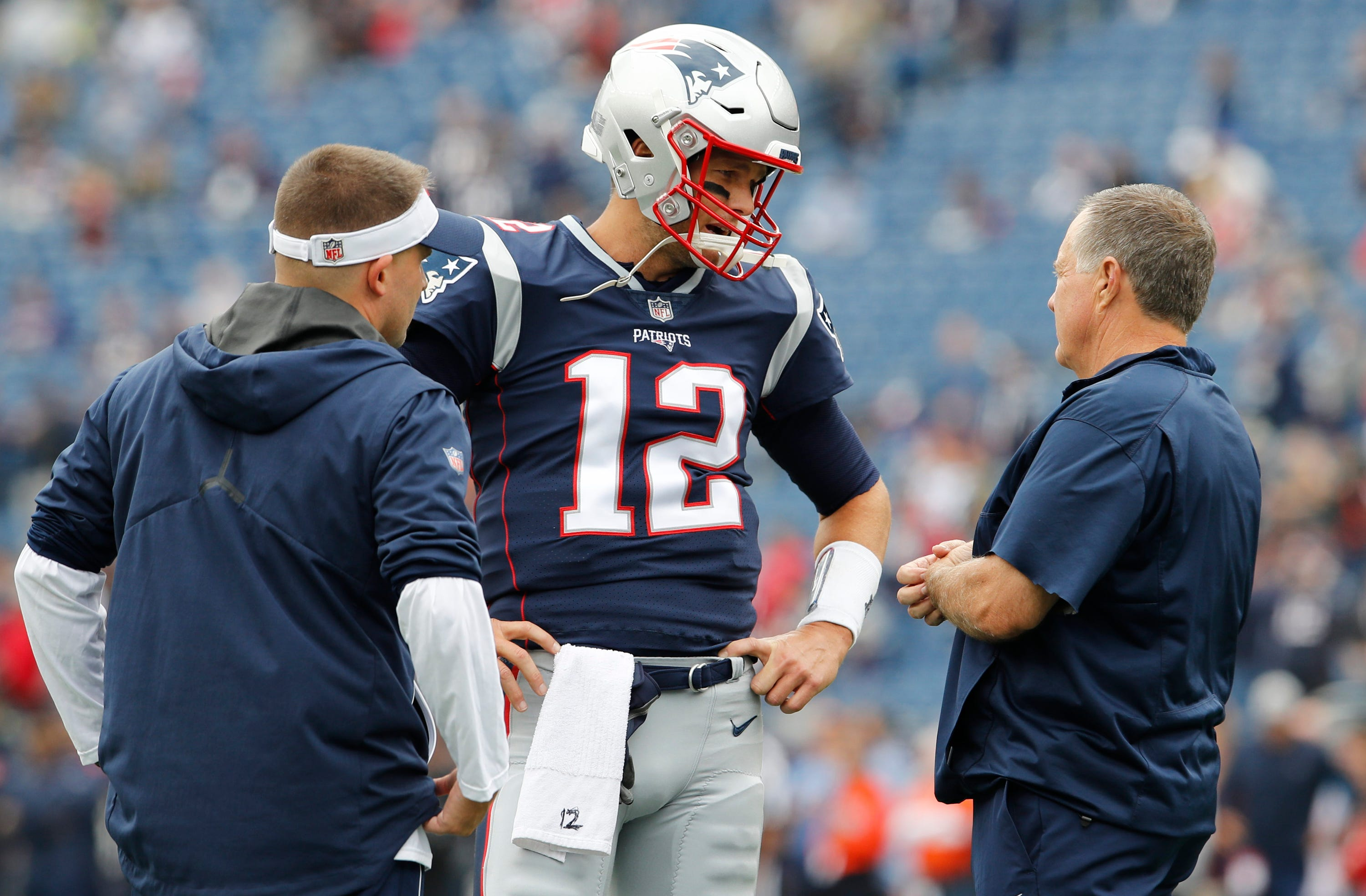 Josh McDaniels won't comment on 'frustrated' Tom Brady's 'frame of