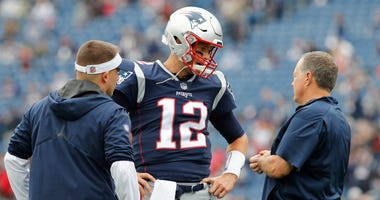 Tom Brady, Bill Belichick, Josh McDaniels