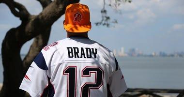 Tom Brady back