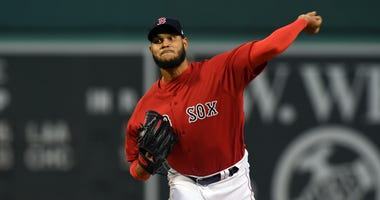 Red Sox pitcher Eduardo Rodriguez