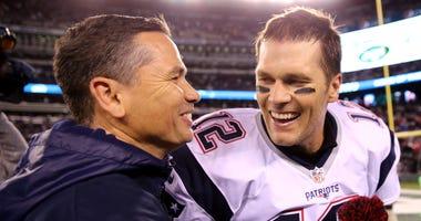 Tom Brady with Alex Guerrero