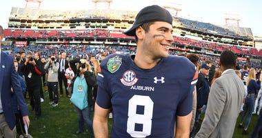 Auburn quarterback Jared Stidham