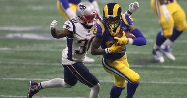 New England Patriots cornerback Jason McCourty