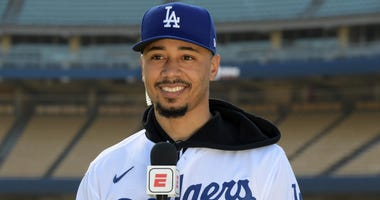 Mookie Betts is now a Dodger