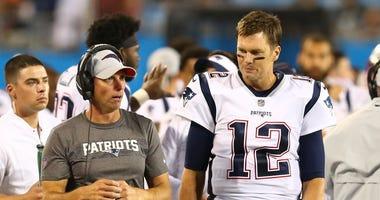 New England Patriots wide receivers coach Chad O'Shea