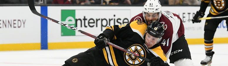 Charlie Coyle Boston Bruins Colorado Avalanche