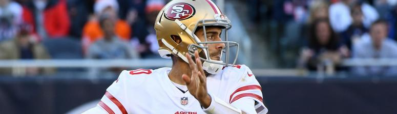 Jimmy Garoppolo may be calling Tom Brady ahead of Super Bowl LIV