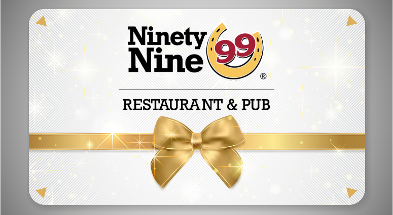The Ninety Nine Gift Card