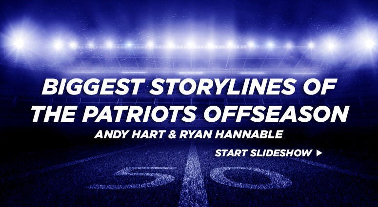 Biggest storylines of the Patriots offseason