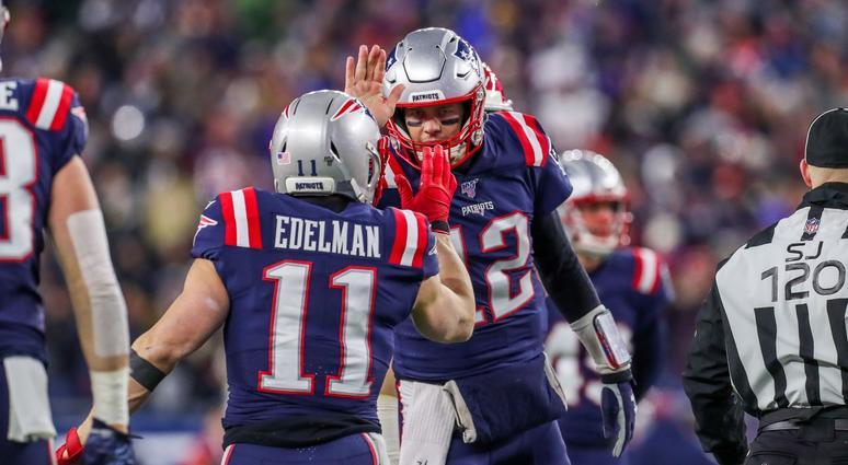 Julian Edelman, Tom Brady