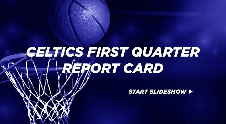 Celtics Report Card