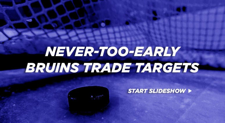 Boston Bruins trade targets