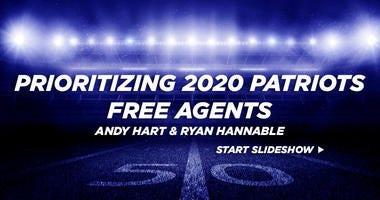 Prioritizing 2020 Patriots free agents