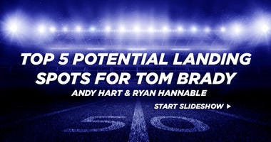 Top 5 potential landing spots for Tom Brady
