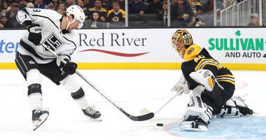 Tuukka Rask Boston Bruins Los Angeles Kings