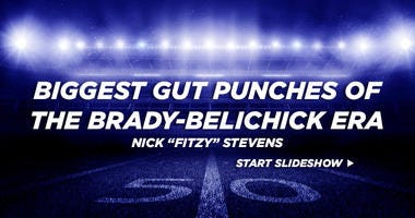 Biggest Gut Punches of the Brady-Belichick era