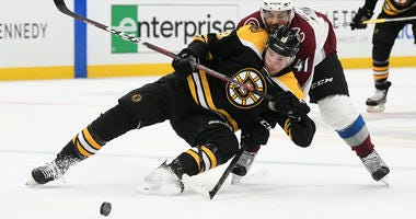 Charlie Coyle Boston Bruins Colorado Avalanche
