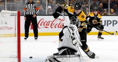 Danton Heinen Boston Bruins Los Angeles Kings
