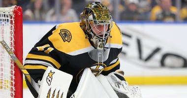 Jaroslav Halak Boston Bruins Buffalo Sabres