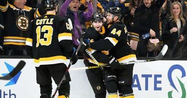 Jake DeBrusk Boston Bruins Buffalo Sabres