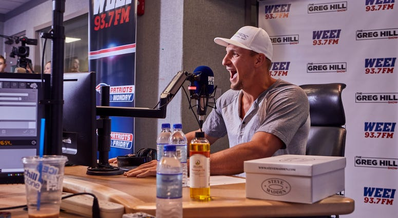 Rob Gronkowski on The Greg Hill Show