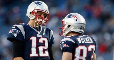 Wes Welker, Tom Brady