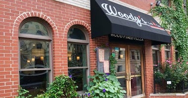 The exterior of Woody's Tap and Grill