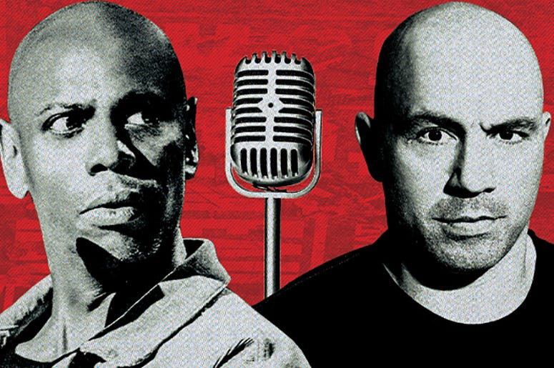 Dave Chappelle and Joe Rogan