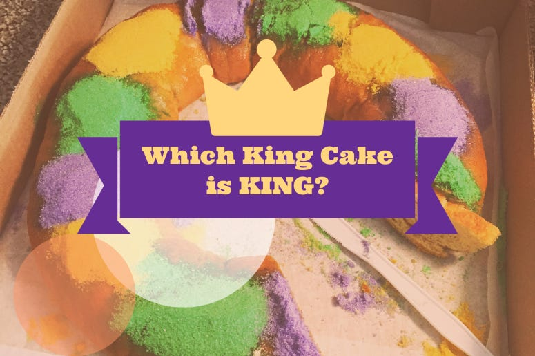 Vote for the King of King Cake