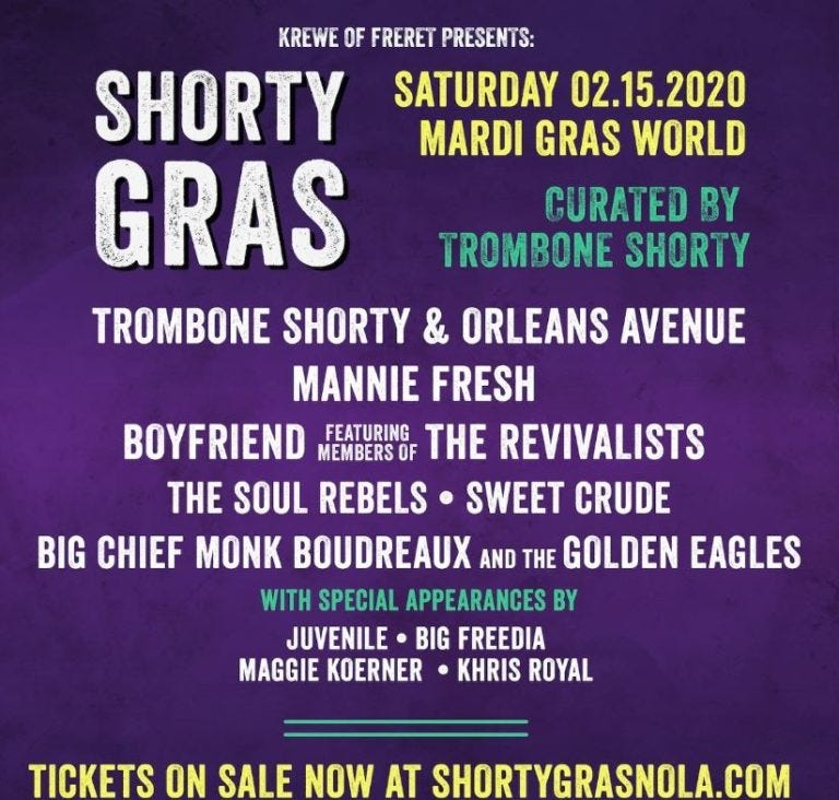 shorty gras