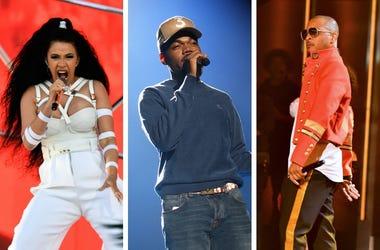 Cardi B, Chance The Rapper, T.I.