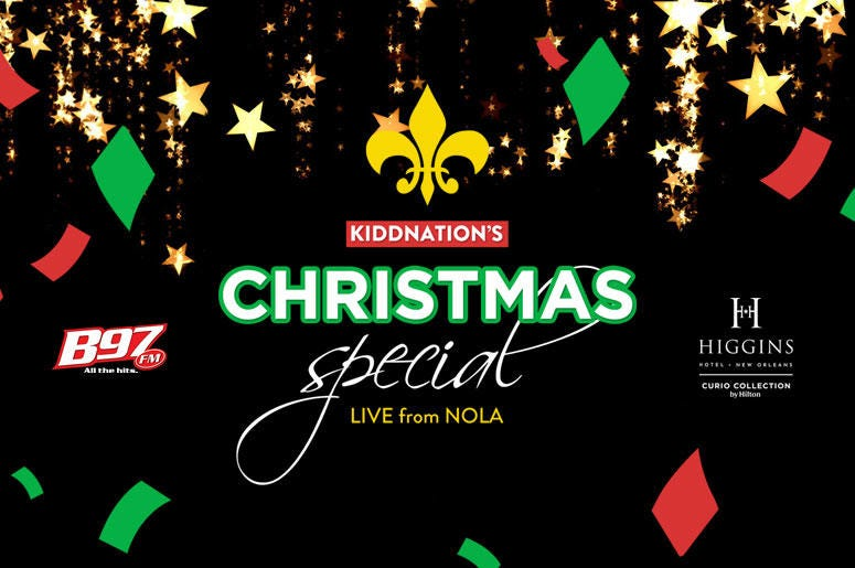 Kidd Nation's Christmas Special Live from NOLA