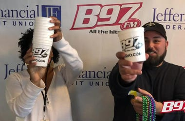 B97's Tpot and Speedy will be riding in the Krewe of Centurions parade this Saturday.
