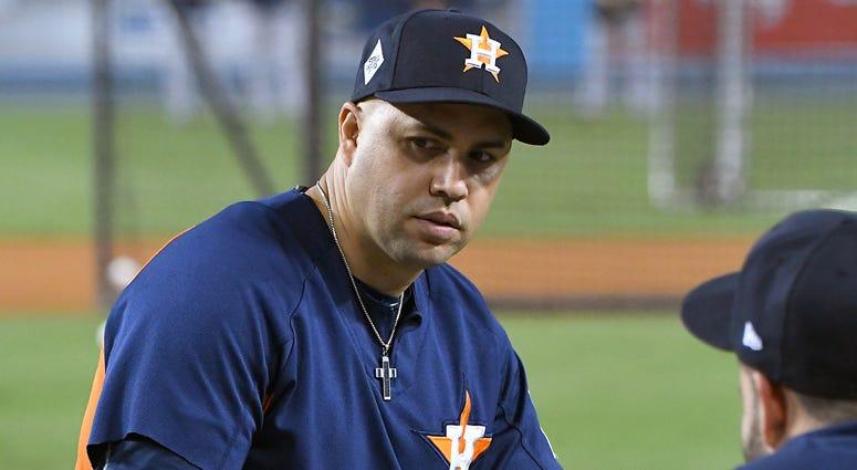 Carlos Beltran in 2017