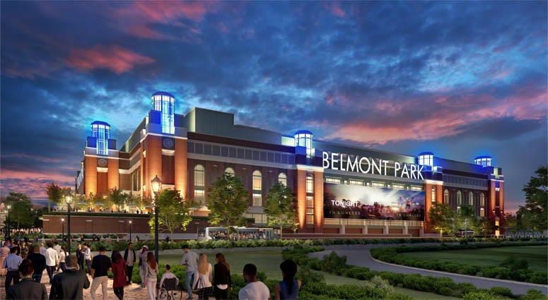 Work On Islanders Belmont Park Arena Paused By COVID-19