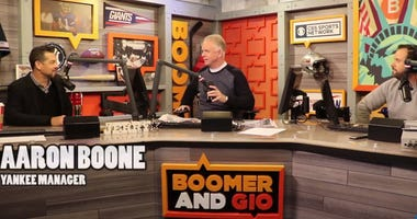 Aaron Boone joins Boomer and Gio.