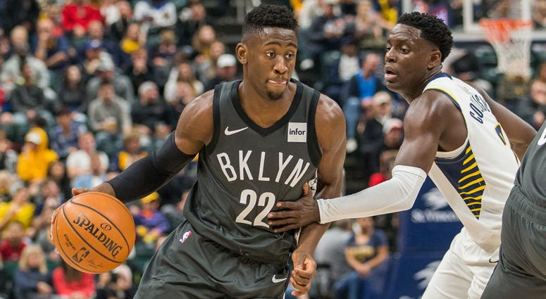 Nets guard Caris LeVert