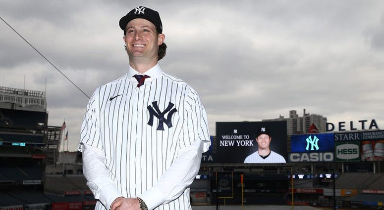 Gerrit Cole joined the New York Yankees this offseason.